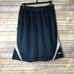 NWT NIKE Blue/Grey/White Basketball shorts L